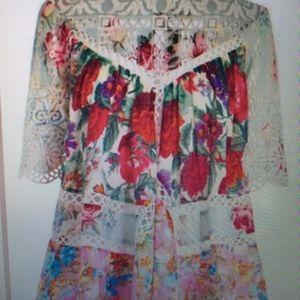 "Zimmermann ""Frangipani"" peasant blouse from Anthro"